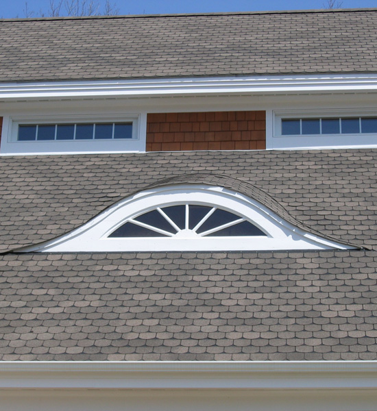 Eyebrow Window Renovation Detail The Eyebrow Dormer With